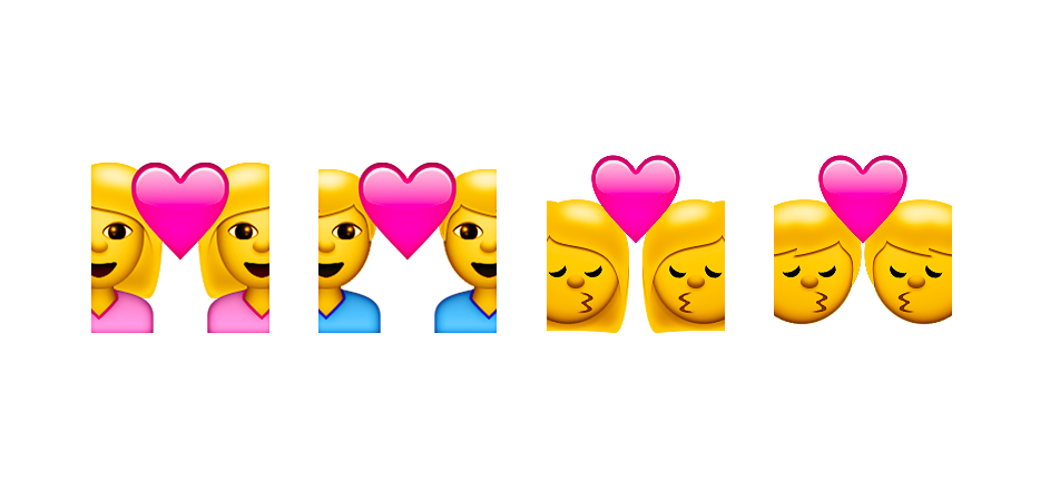 Gay Apple Emojis Investigated In Russia: IOS 8.3 Emoji Changelog