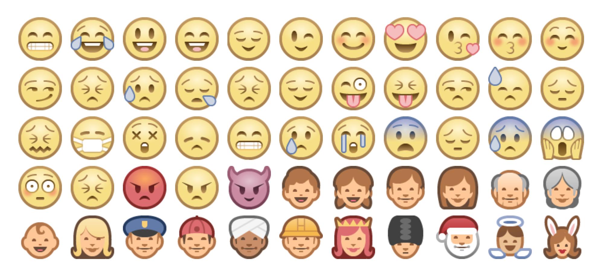 Single Line Emoji Art : New to emojipedia samsung facebook emoji one