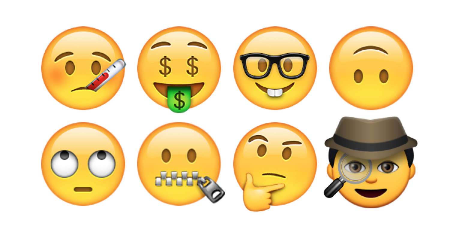 Above New Emoji Faces Are Included In IOS 91