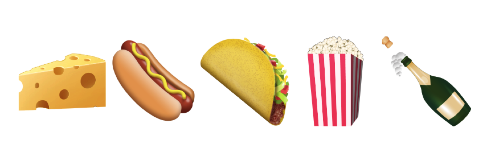 Ios 91 emoji changelog above new emoji additions to the food and drink category biocorpaavc Image collections