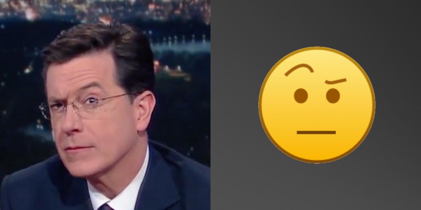 Rise Of The Colbert Emoji