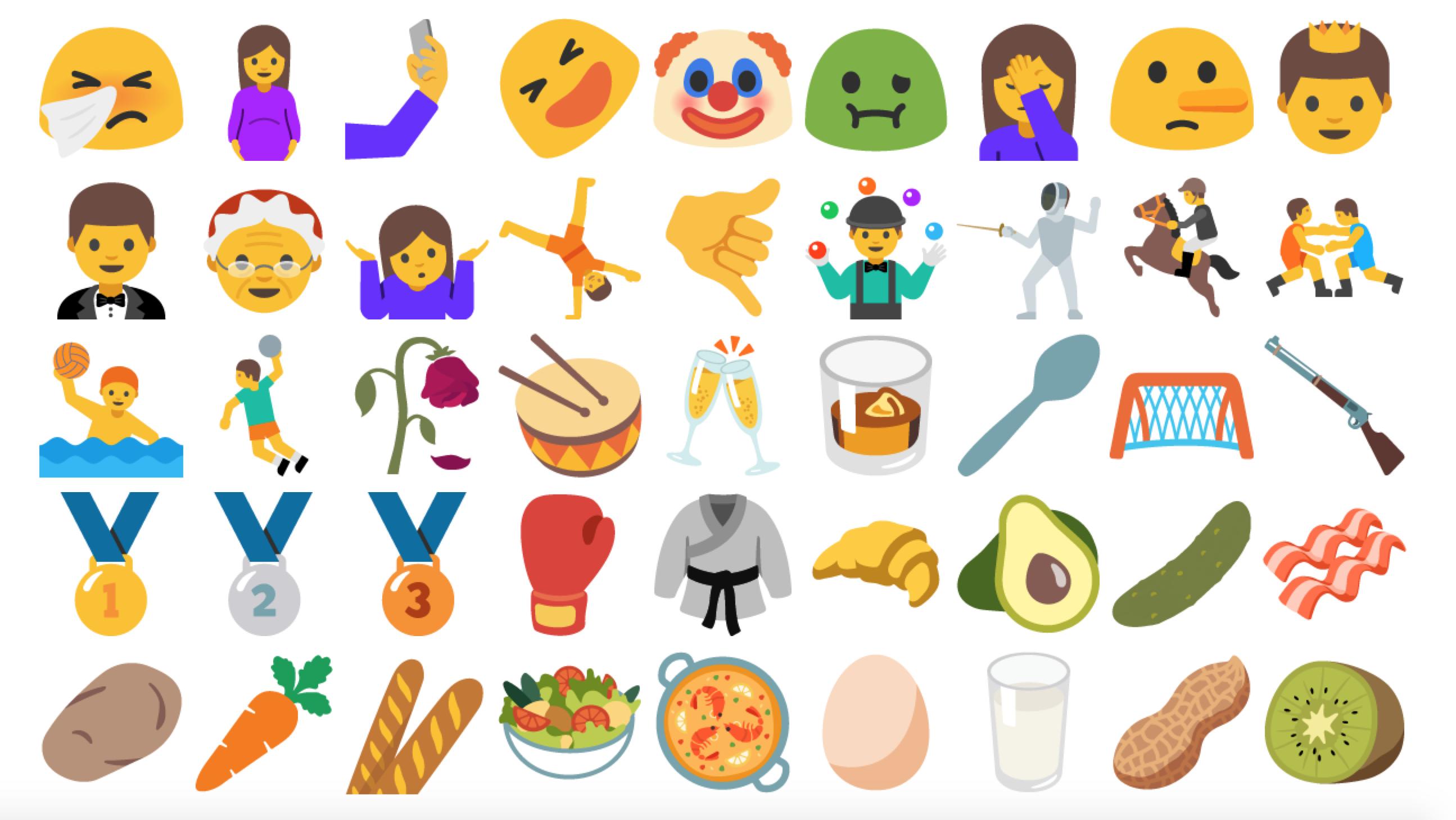 Android N Drops Gender Neutral Emojis