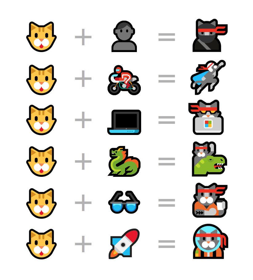 Ninja Cat The Windows Only Emoji