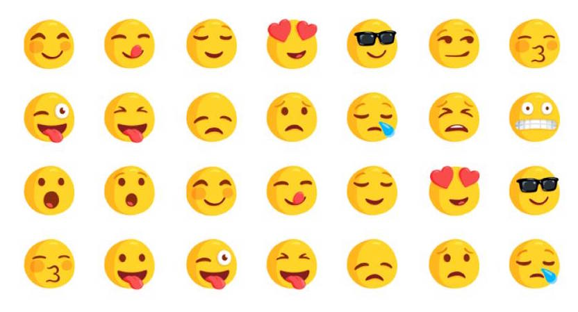 Facebook Messenger Smileys