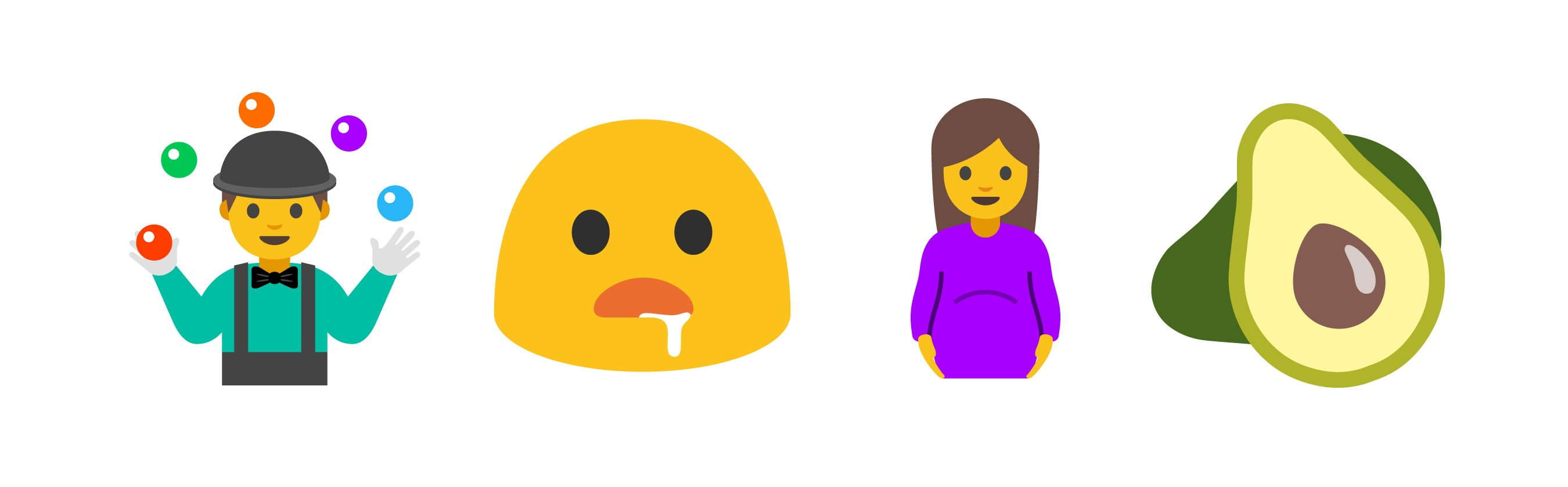 Android 70 Nougat Emoji Changelog
