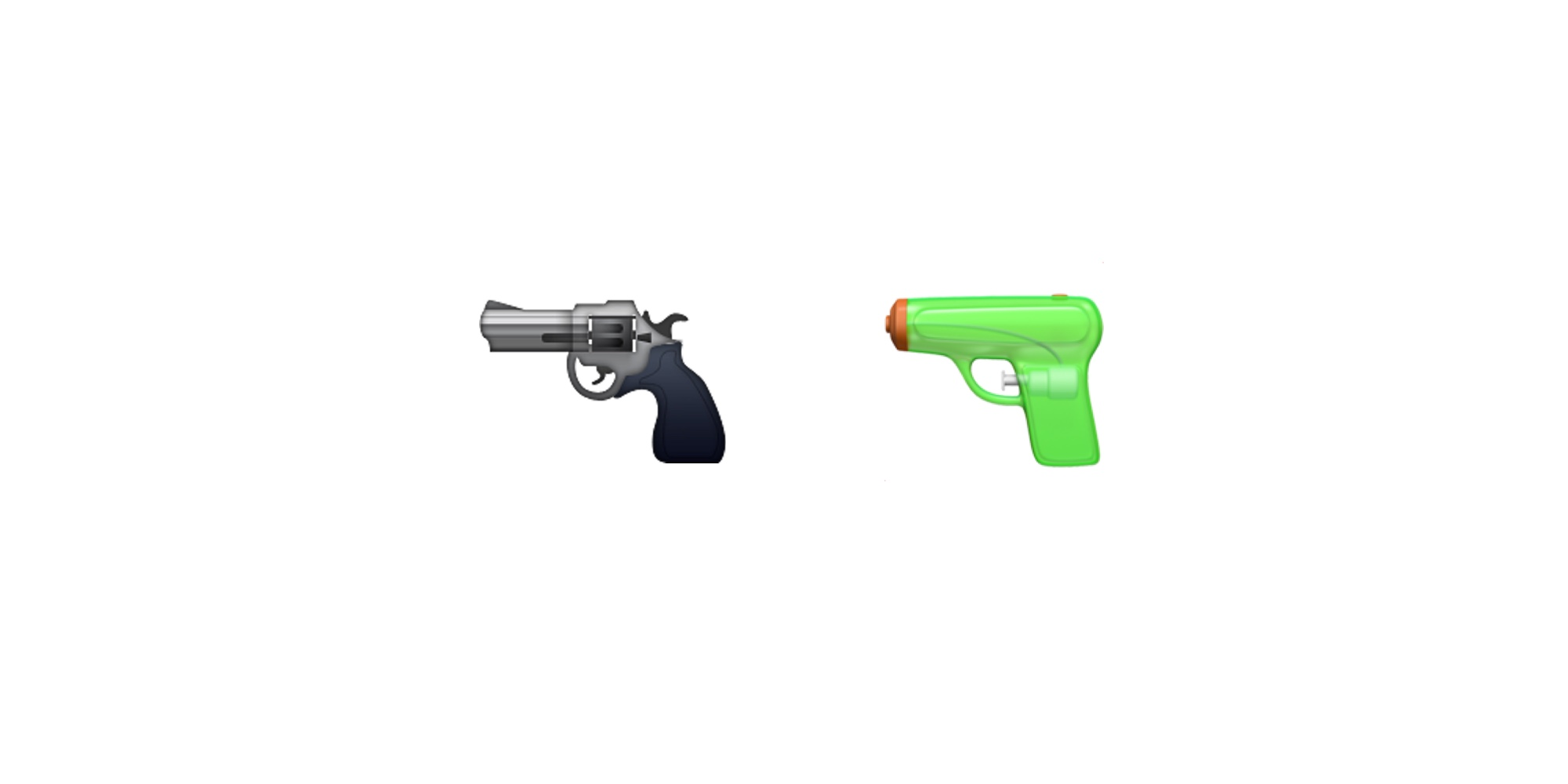 Apple And The Gun Emoji