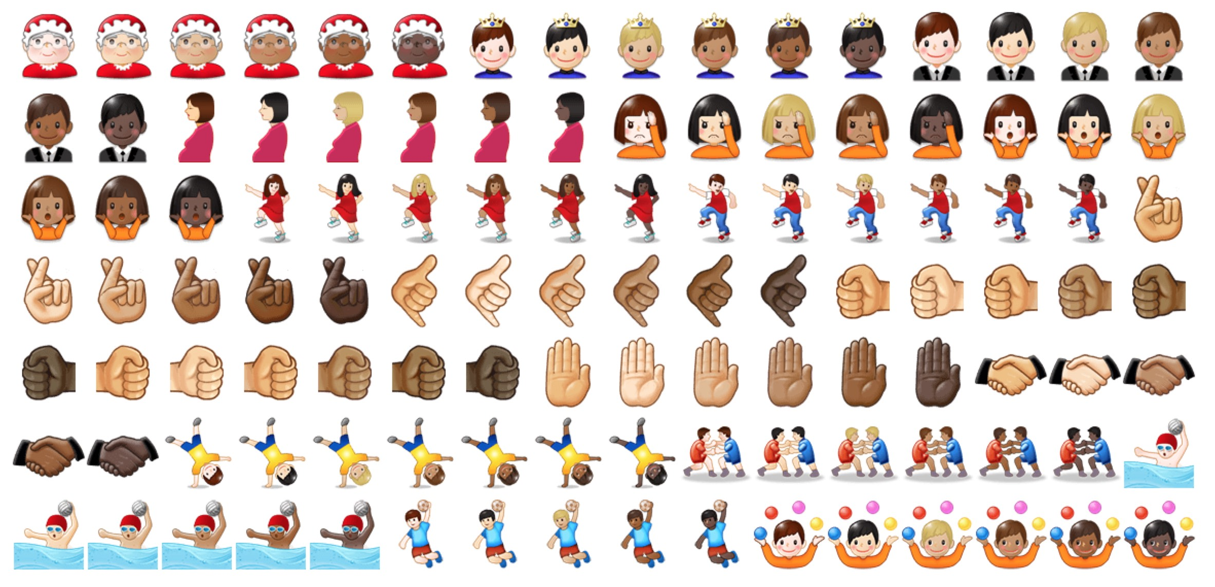 First Look Samsung Unicode 9 Emoji Support