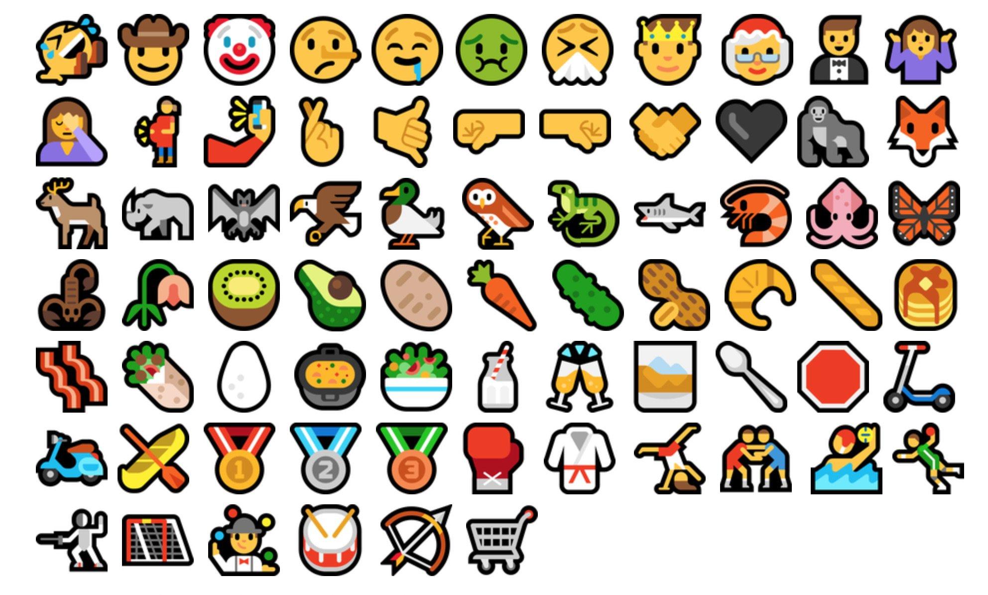 2016 Emoji Compatibility Checklist