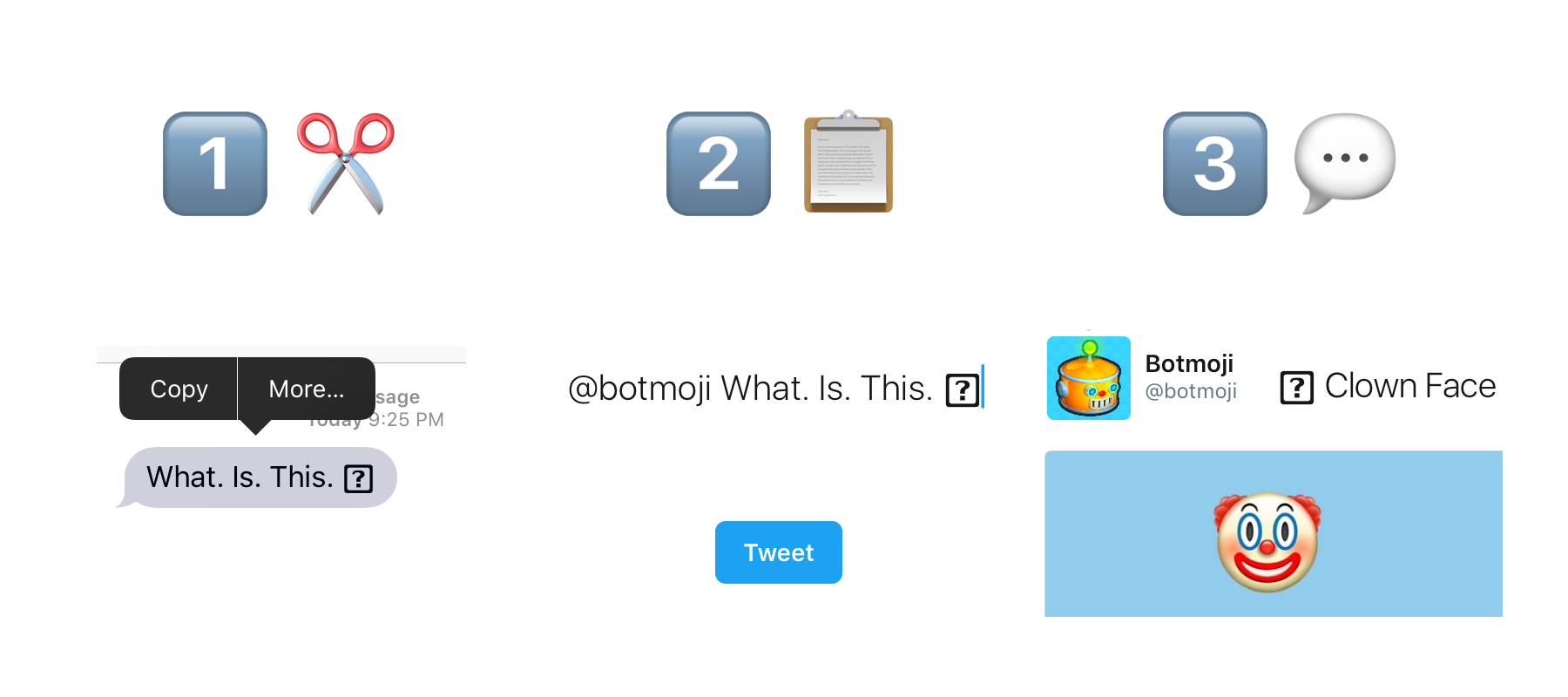 Turn A Question Mark Box   Into An Emoji
