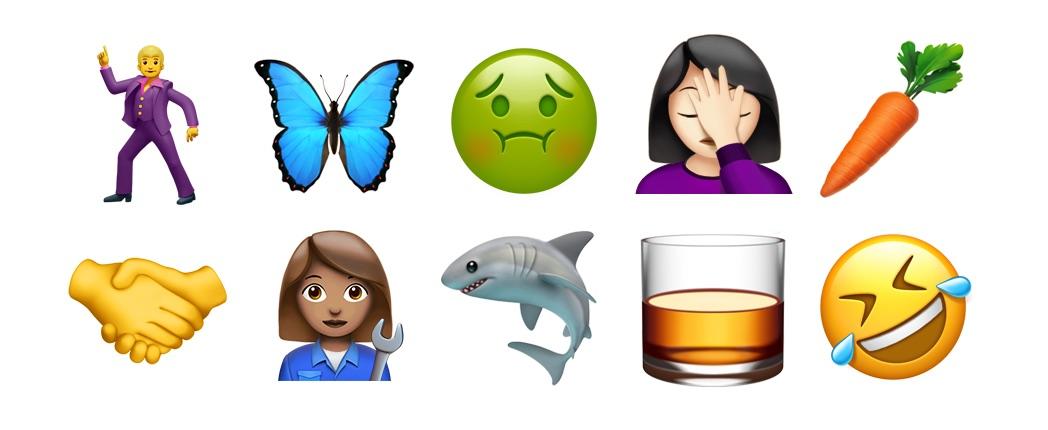 how to get black apple emojis