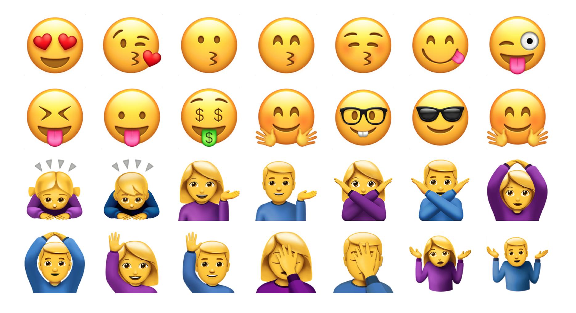 above apple color emoji font