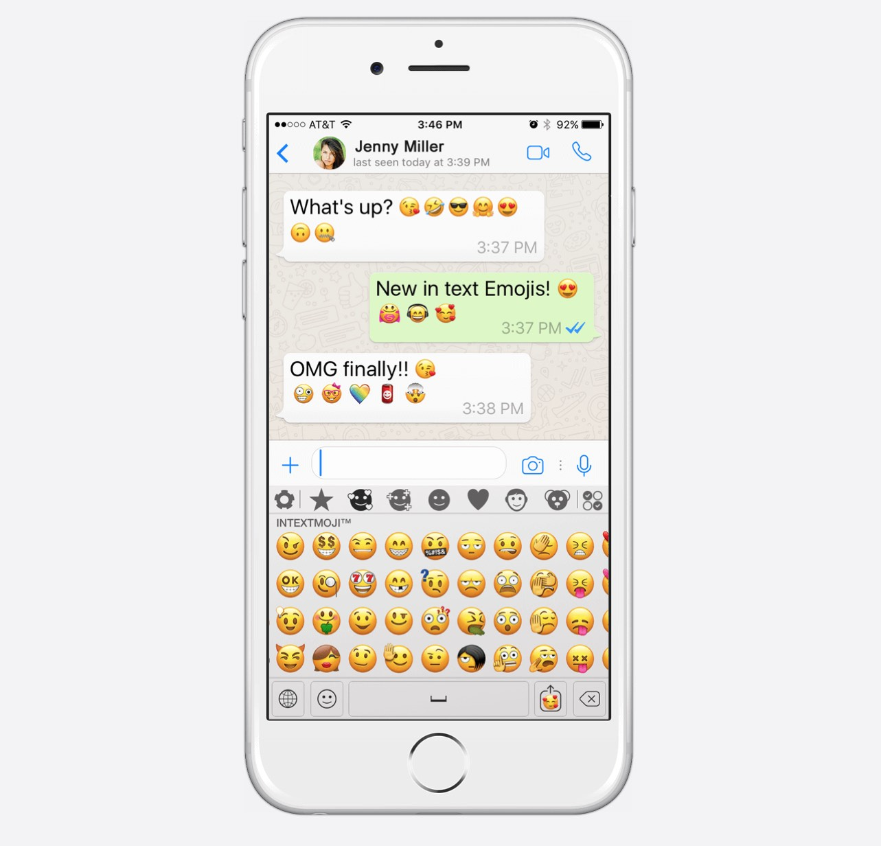 Custom emojis arrive on ios as such if these are sent to a user on android o beta which supports emoji 50 they still wont appear correctly as the character being sent is custom buycottarizona