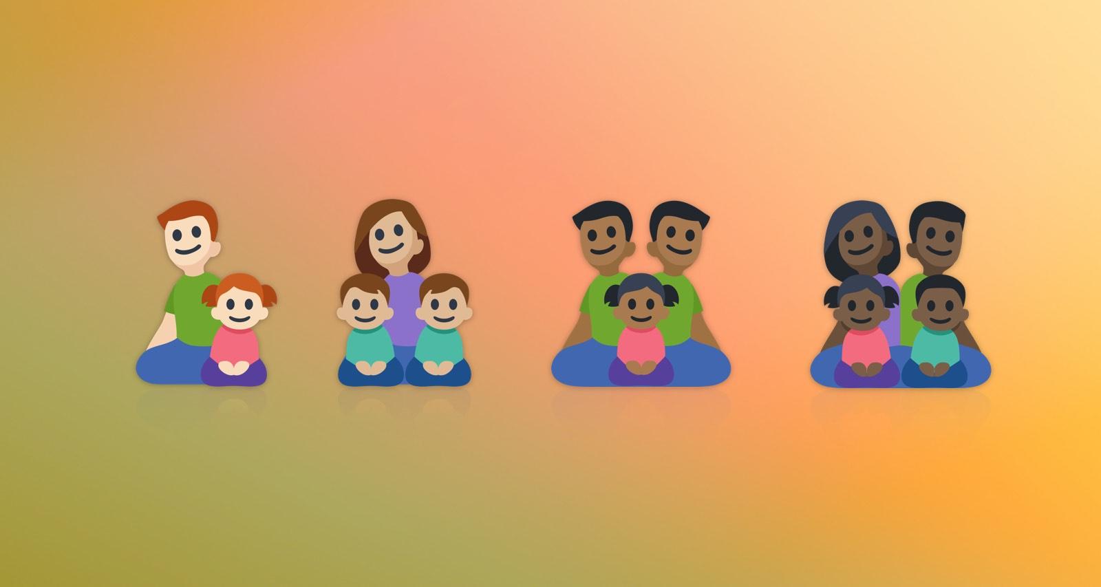 facebook adds black family emojis