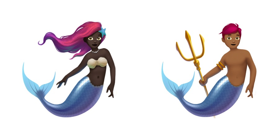 ios11-mermaid-merman-emojis-emojipedia