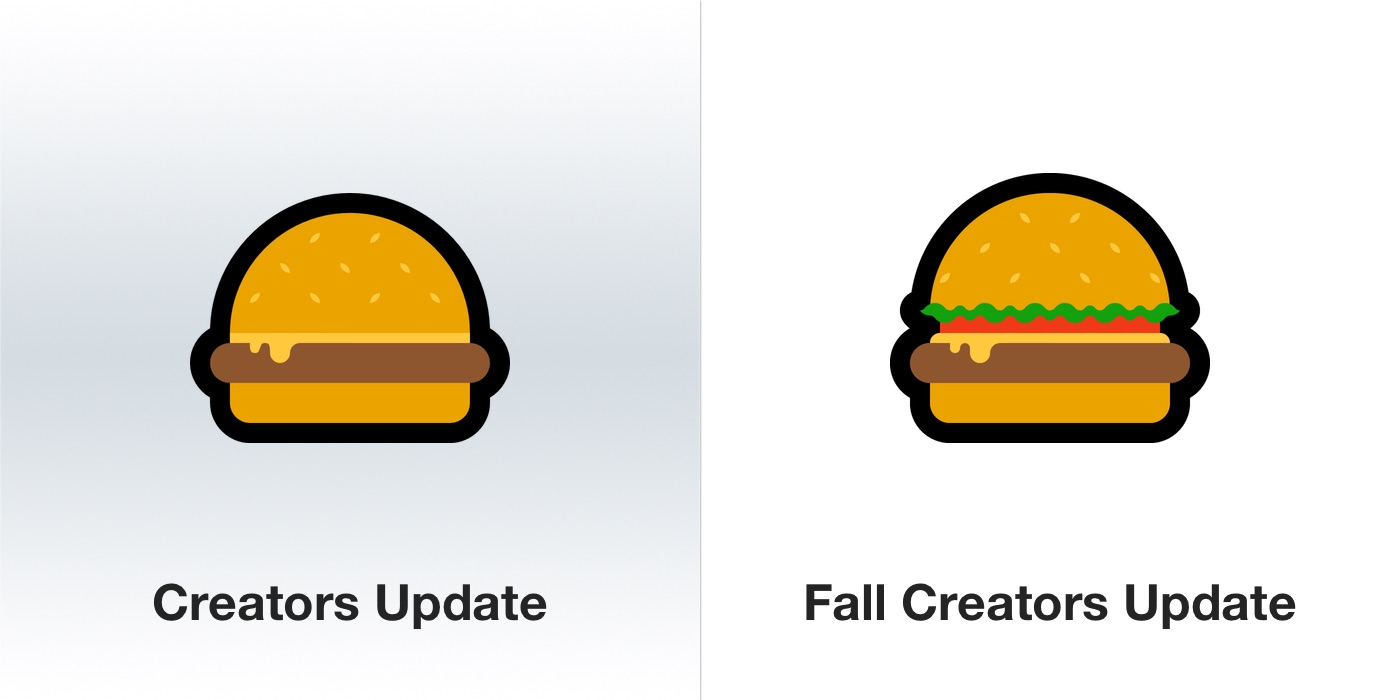 windows-10-fall-creators-update-hamburger-emoji-emojipedia