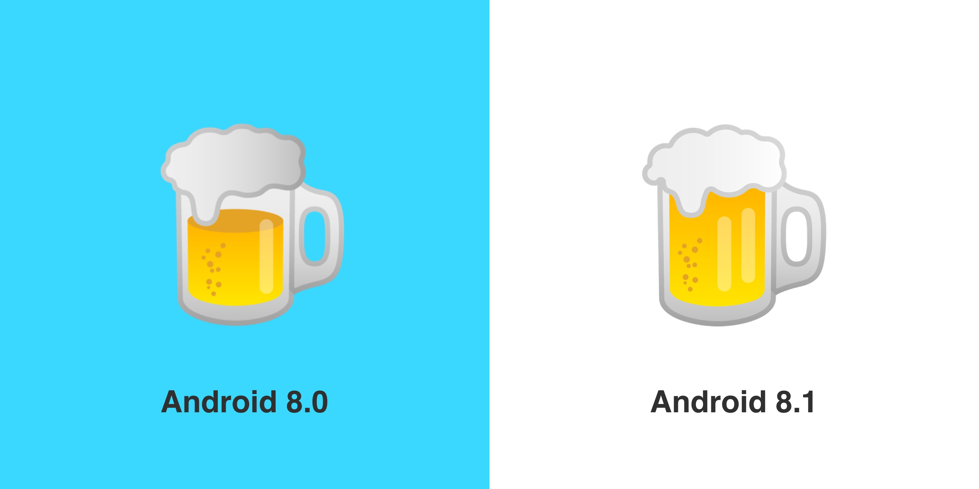 google-beer-emoji-before-after-emojipedia