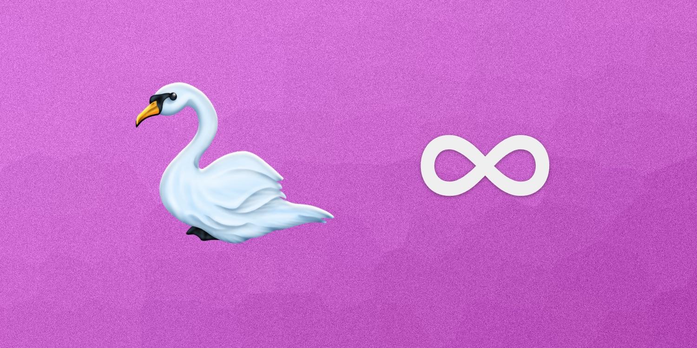 Draft 2018 Emojis Swan Infinity More
