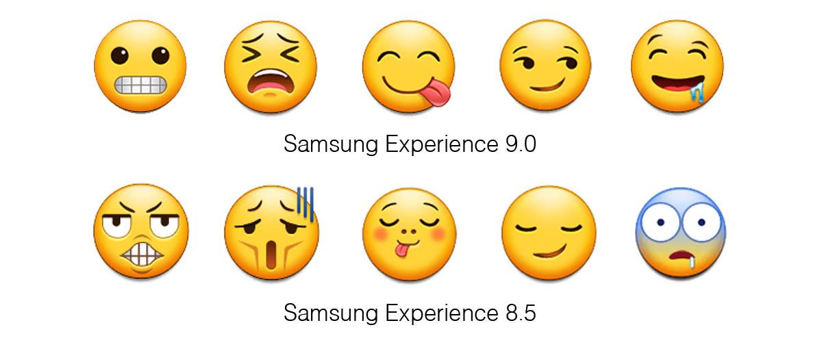 Samsung Experience 90 Emoji Changelog