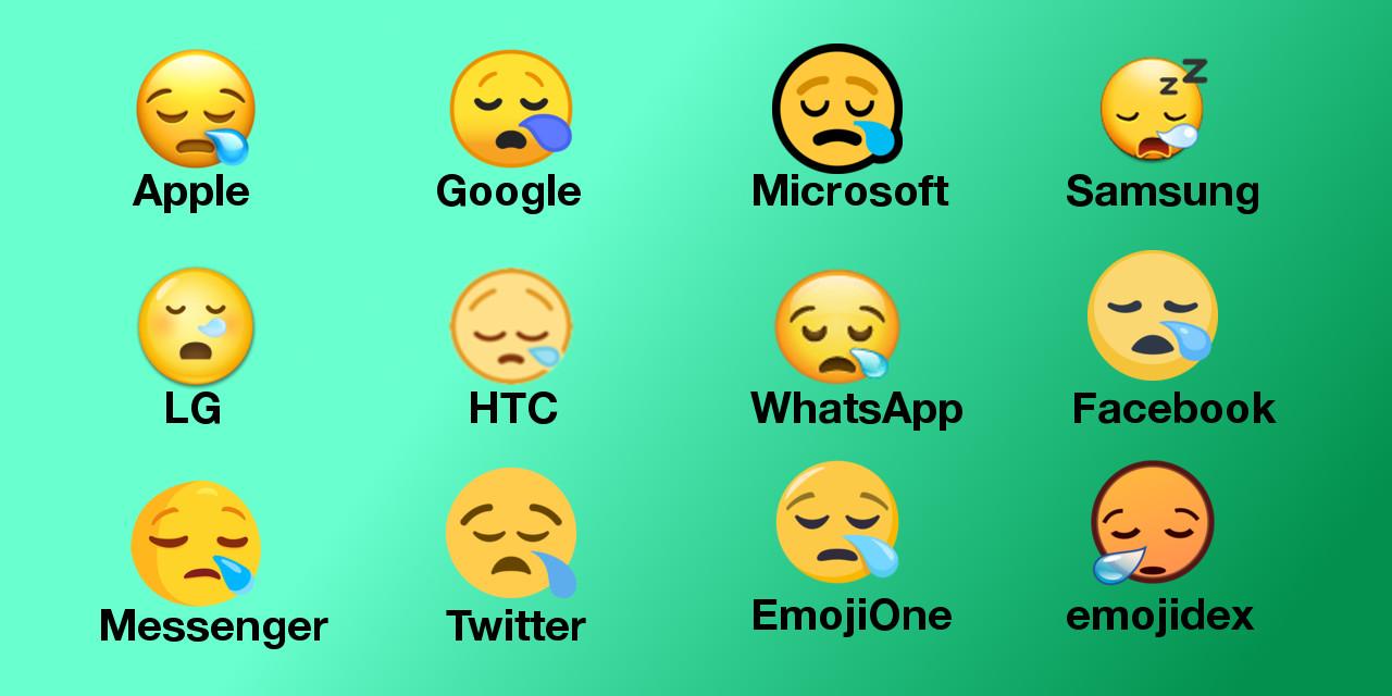 Sleepy-Face-Emoji-Across-Platforms-Emojipedia