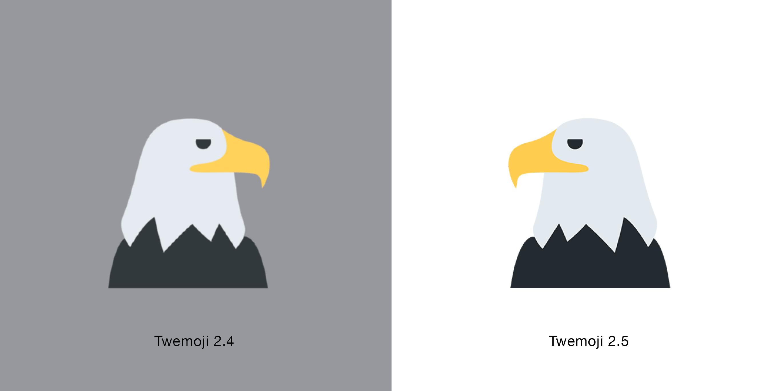 eagle-2.5-emojipedia-twittertwemoji-emojipedia-1