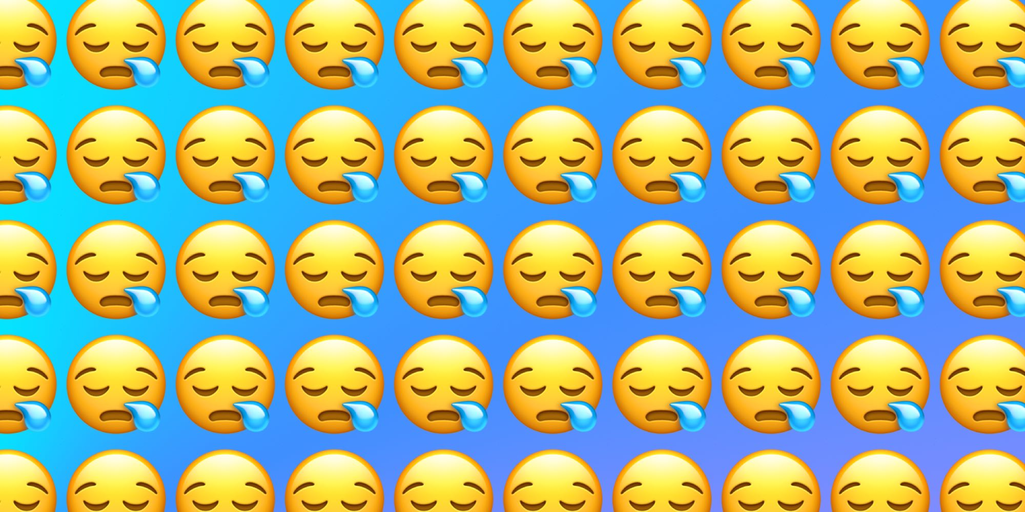 Emojiology: 😪 Sleepy Face