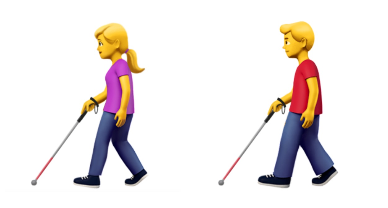 apple-person-with-white-cane-emoji-emojipedia