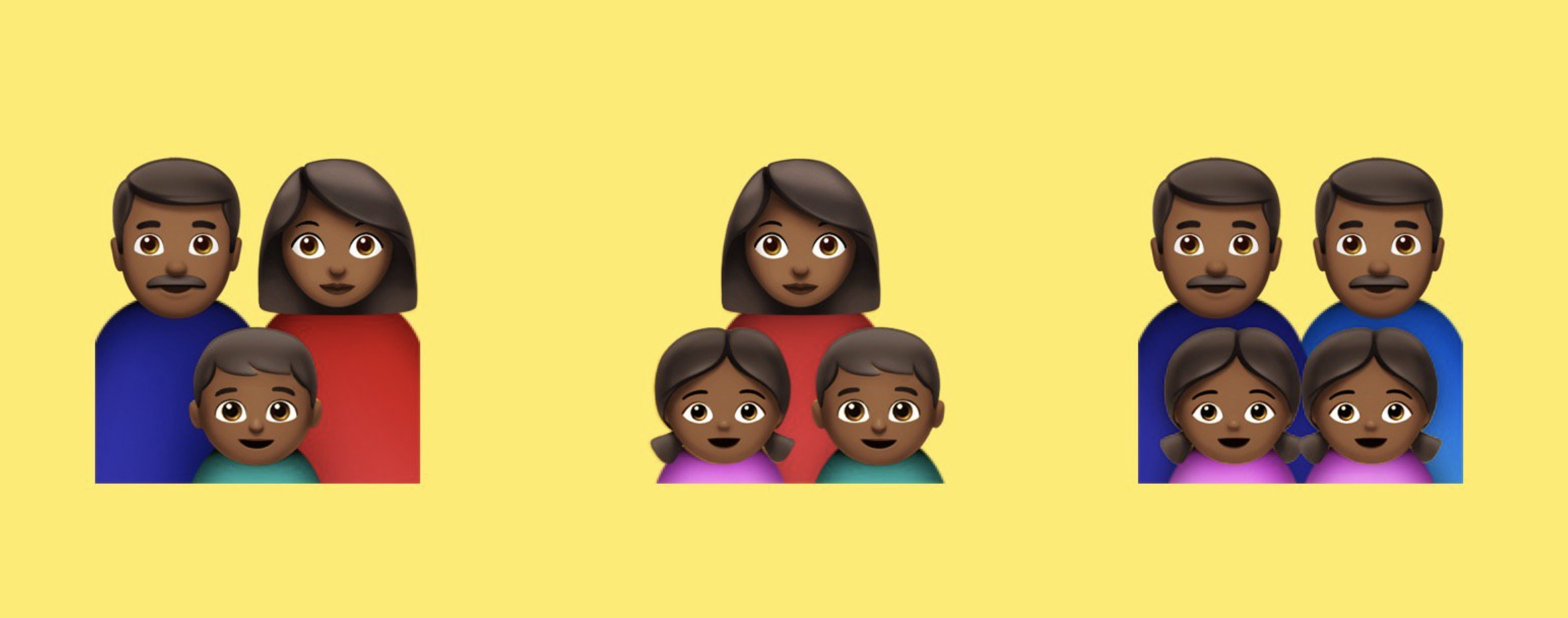 black-family-emojis-emojipedia