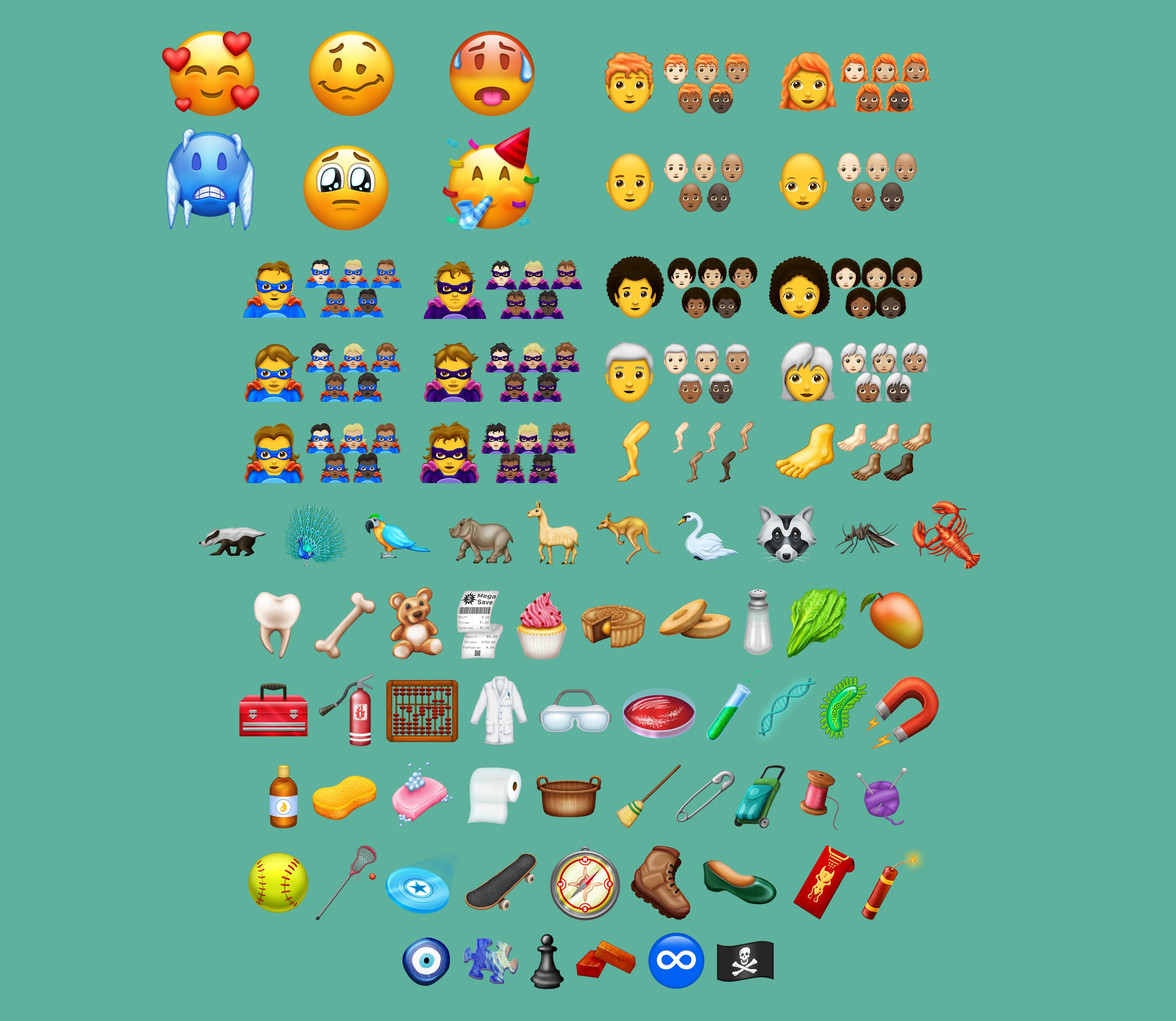 157 New Emojis in the 2018 Emoji List