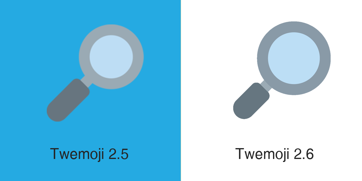 Emojipedia-Twemoji-2dot6-Magnifying-Glass-Tilted-Right-Emoji-Comparison-1