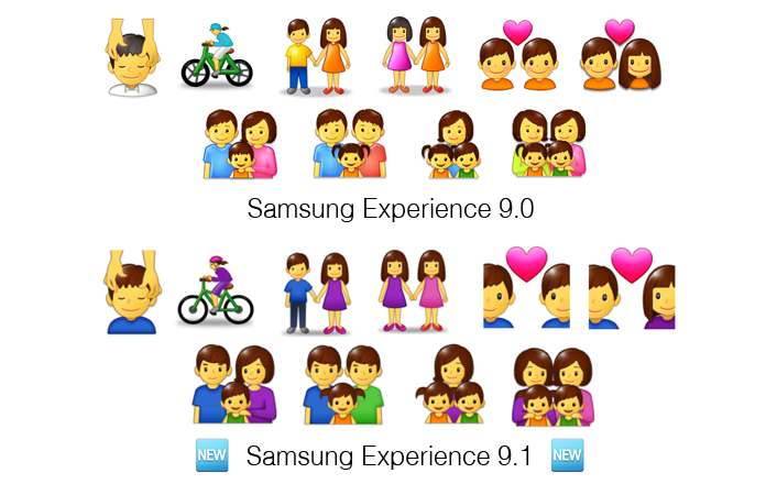 Samsung-Experience-9-1-Emojipedia-Comparison-Person-Clothing-Colours-Comparison-1