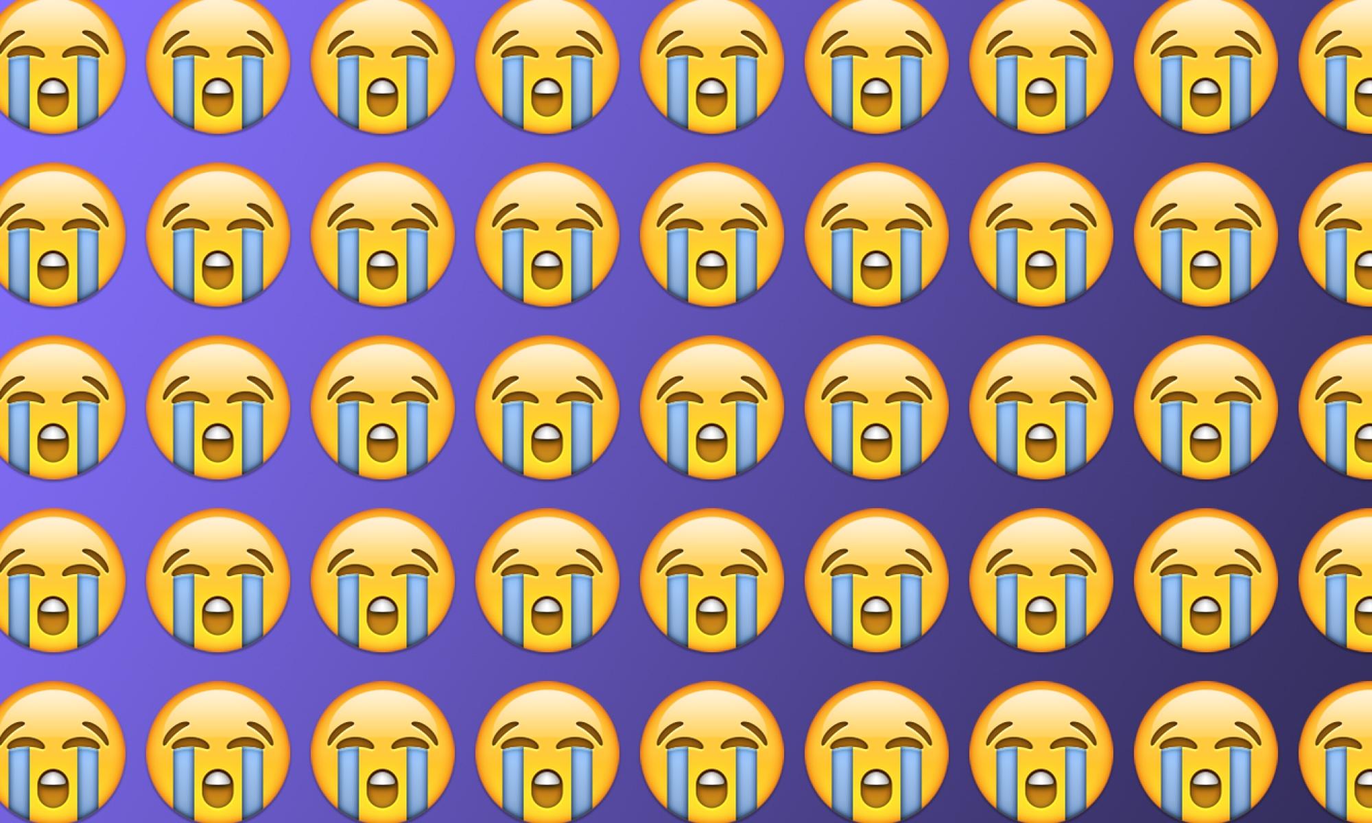 Emojiology: 😭 Loudly Crying Face