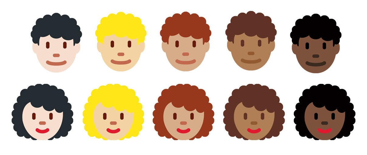 Emojipedia-Twemoji-11_0-Curly-Haired-People-Emoji-All-Skin-Tones