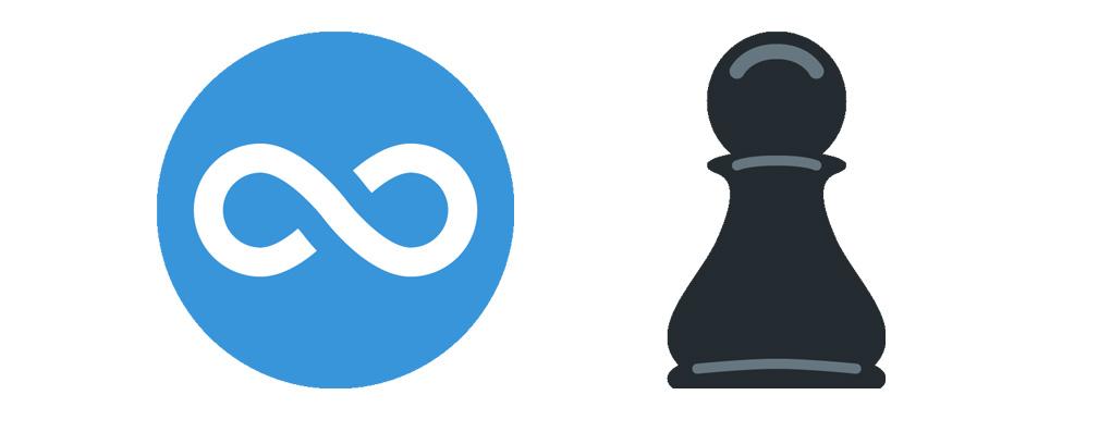 Emojipedia-Twemoji-11_0-Infinity-Pawn