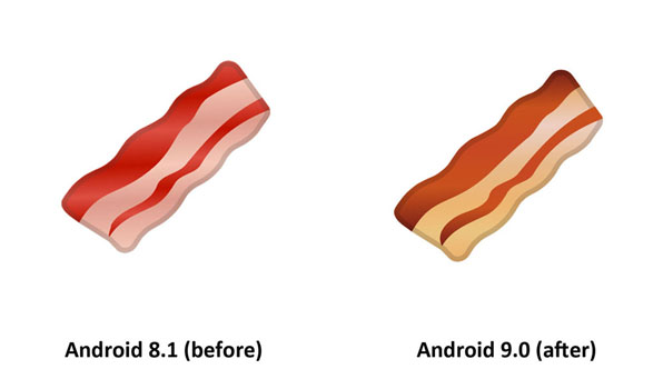 Emojipedia-Android-9.0-Changelog-Bacon-Emoji-Comparison-3
