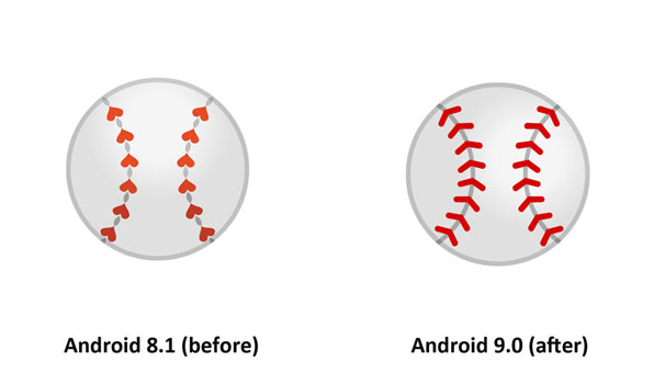 Emojipedia-Android-9.0-Changelog-Baseball-Emoji-Comparison-3
