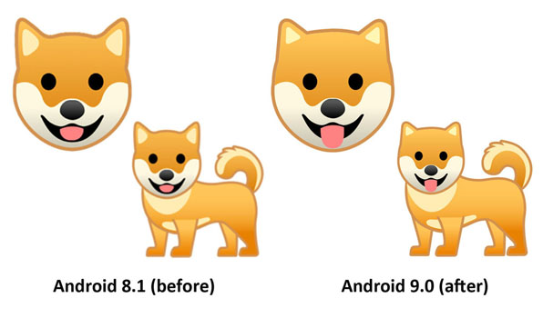 Emojipedia-Android-9.0-Changelog-Dog-Dog-Face-Emoji-Comparison-2