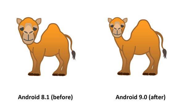 Emojipedia-Android-9.0-Changelog-Dromedary-Camel-Emoji-Comparison-3