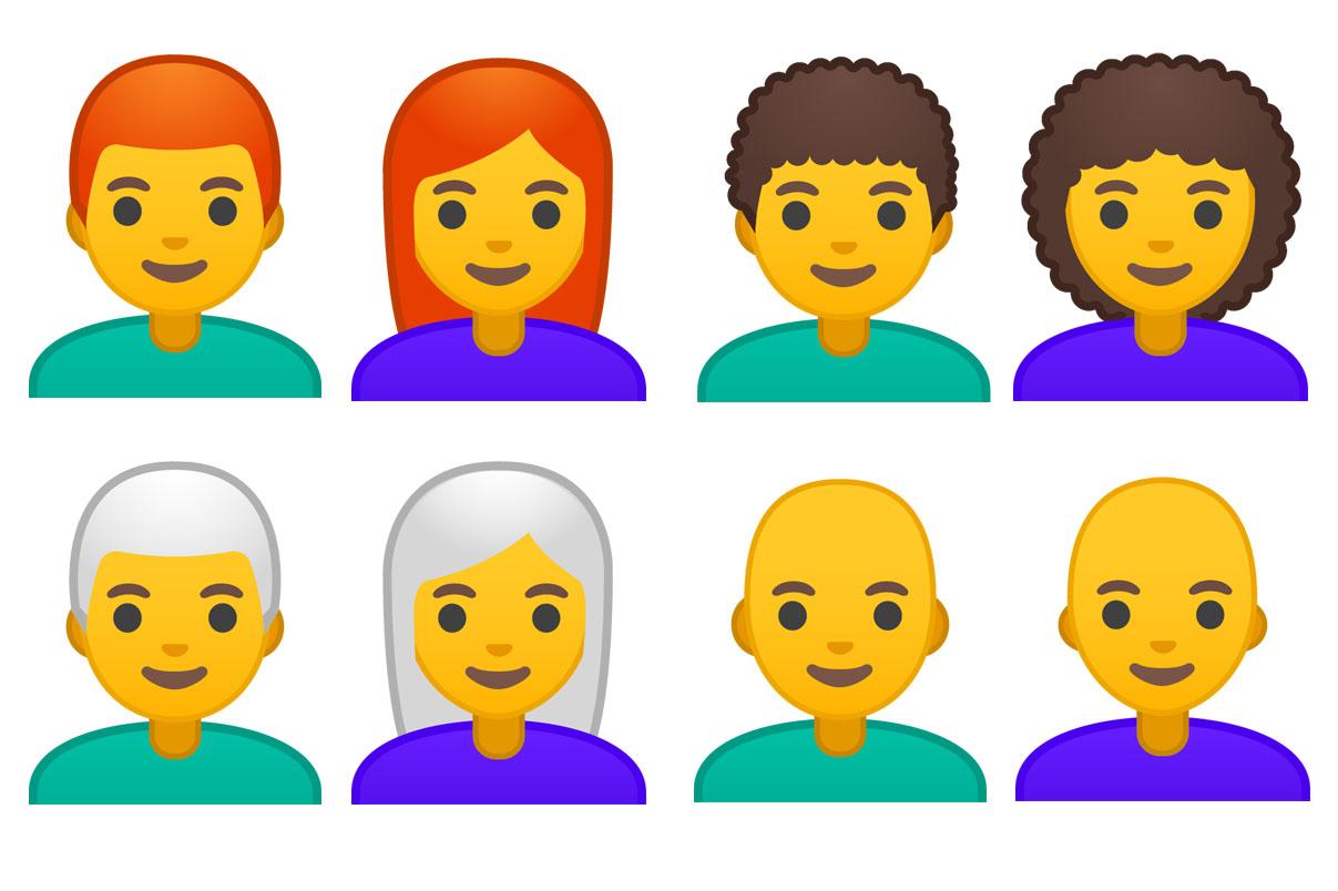Emojipedia-Android-9.0-Changelog-Emoji-11.0-Hair-Style-Emoji