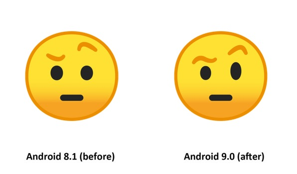 Emojipedia-Android-9.0-Changelog-Eyebrow-Face-Emoji-Comparison