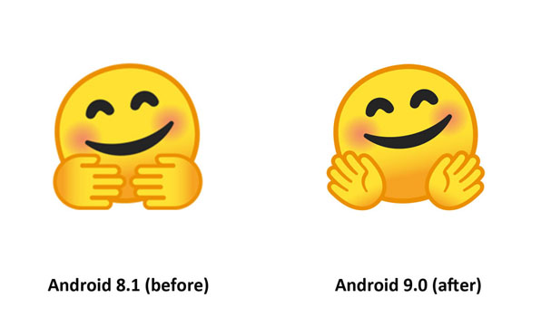Emojipedia-Android-9.0-Changelog-Hugging-Face-Emoji-Comparison-2