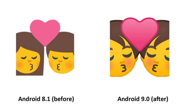 Emojipedia-Android-9.0-Changelog-Kiss-Emoji-Comparison-2