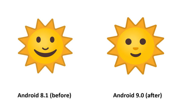 Emojipedia-Android-9.0-Changelog-Sun-Face-Emoji-Comparison-3