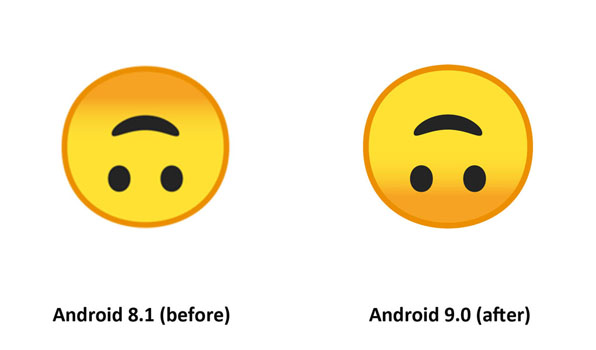Android 9 0 Emoji Changelog