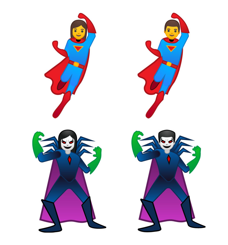 Emojipedia-Android-9.0-Emoji-11.0-Superheroes-Super-Villains