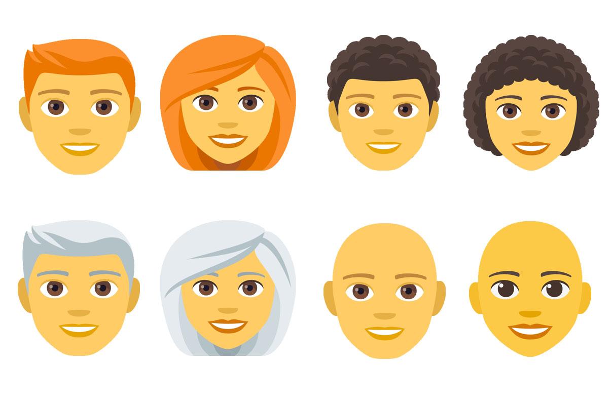 Emojipedia-EmojiOne-4.0-Emoji-11.0-Hair-Styles