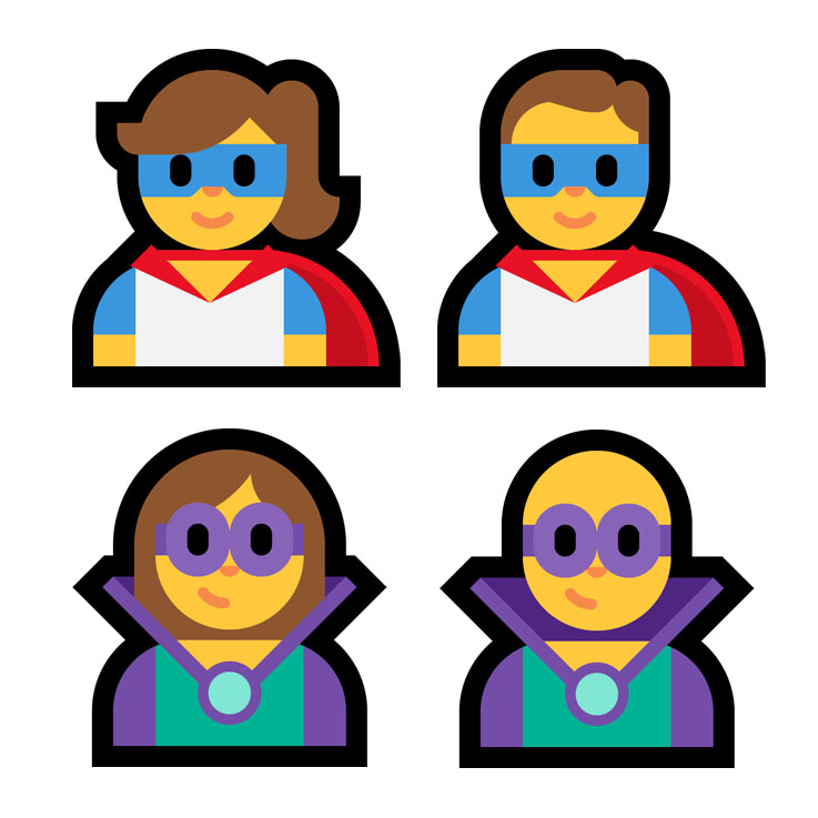 Emojipedia-Windows-Fall-2018-Emoji-11.0-Superheroes-Super-Villains