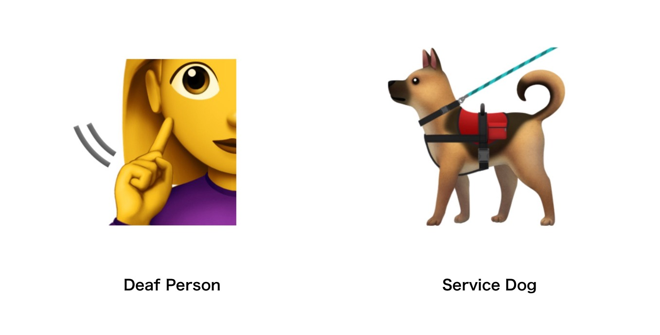 deaf-person-service-dog-emojipedia