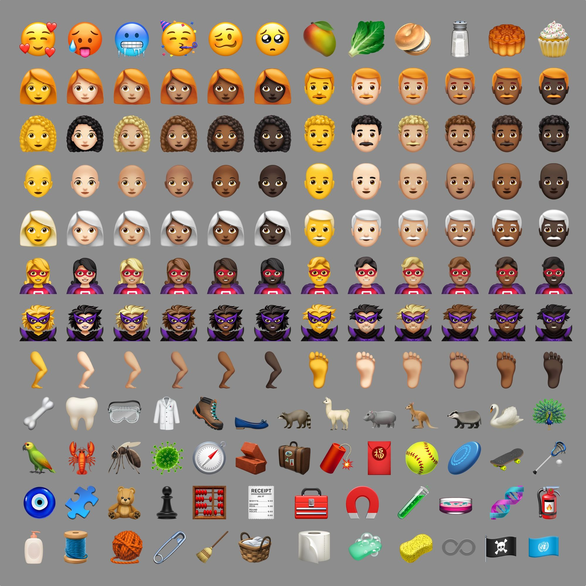 iOS 12 1 Emoji Changelog