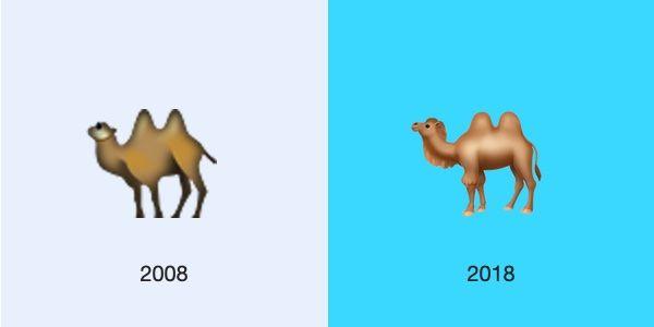 camel-ios-2008-2018-emojipedia
