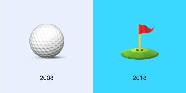 golf-ios-2008-2018-emojipedia